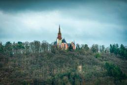 Shooting Notheis production Kapelle Rhein landscape